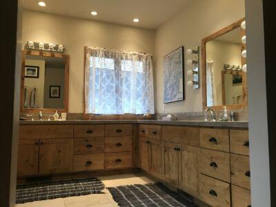Master Bathroom  with heating floor